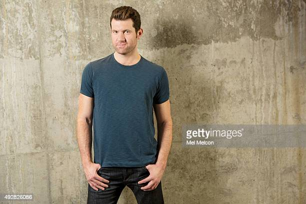 Comedian Billy Eichner is photographed for Los Angeles Times on September 25 2015 in Los Angeles California PUBLISHED IMAGE