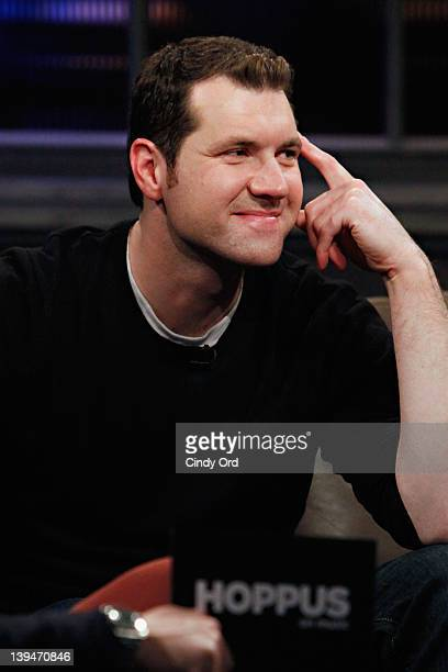 Comedian Billy Eichner visits fuse Studios on February 21 2012 in New York City
