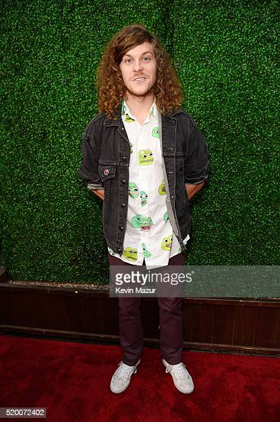 Comedian Blake Anderson attends the 2016 MTV Movie Awards at Warner Bros Studios on April 9 2016 in Burbank California MTV Movie Awards airs April 10...