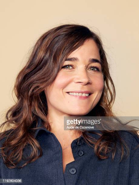 Comedian Blanche Gardin poses for a portrait on September 26 2019 in Deauville France