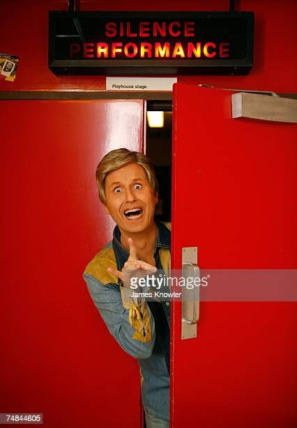 Comedian Bob Downe pose for a portrait ahead of his performance on stage at the 7th Annual Adelaide Cabaret Festival at the Dunstan Playhouse on June...