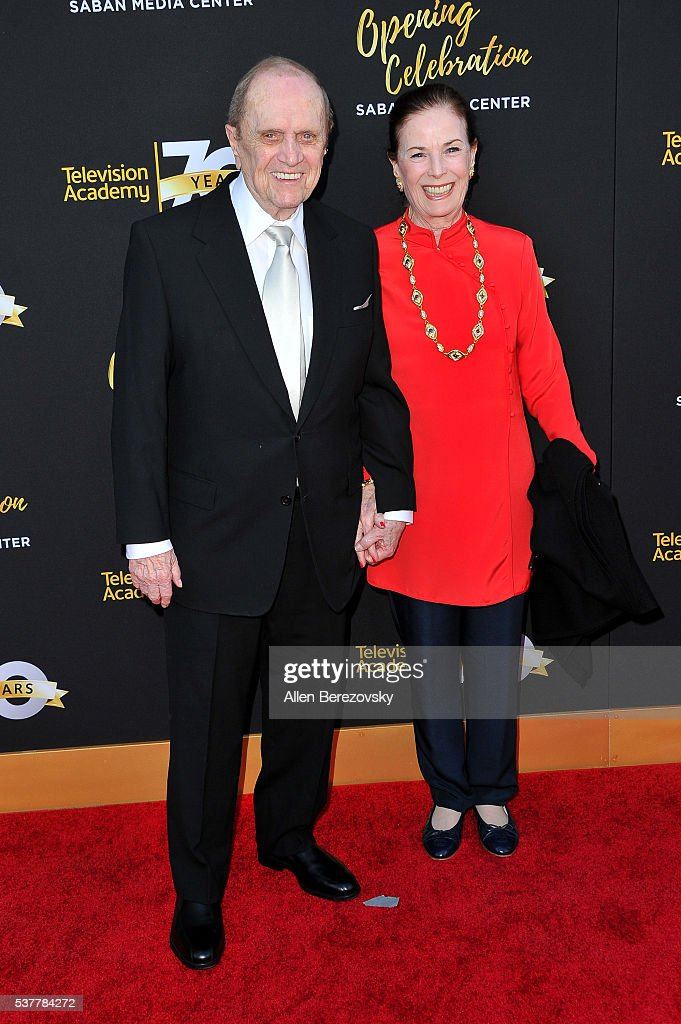 Comedian Bob Newhart (L) and Ginny Newhart attend the Television Academy's 70th Anniversary Gala on June 2, 2016 in Los Angeles, California.