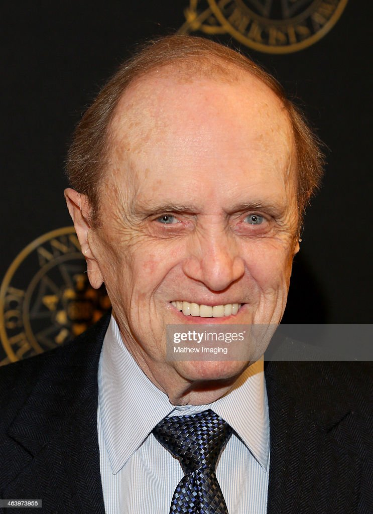 Comedian Bob Newhart poses backstage at the 52nd Annual ICG Publicists Awards at The Beverly Hilton Hotel on February 20, 2015 in Beverly Hills, California.