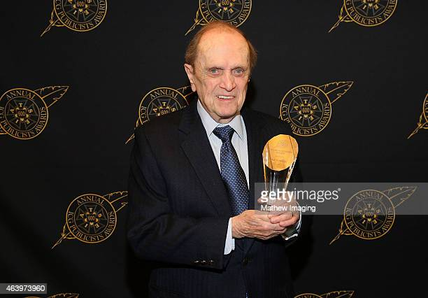Comedian Bob Newhart poses with the Lifetime Achievement Award backstage at the 52nd Annual ICG Publicists Awards at The Beverly Hilton Hotel on...