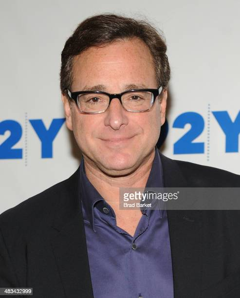 Comedian Bob Saget attends the new book 'Dirty Daddy The Chronicles of a Family Man Turned Filthy Comedian' at the 92nd Street Y on April 8 2014 in...