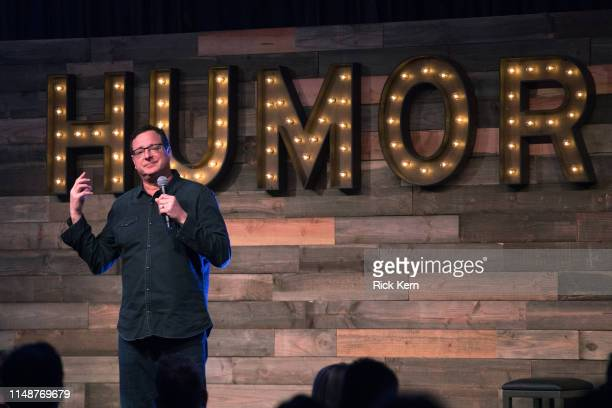 Comedian Bob Saget performs onstage during day three of KAABOO Texas at ATT Stadium on May 12 2019 in Arlington Texas
