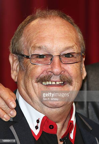 Comedian Bobby Ball attends the British Soap Awards at Media City on May 18, 2013 in Manchester, England.