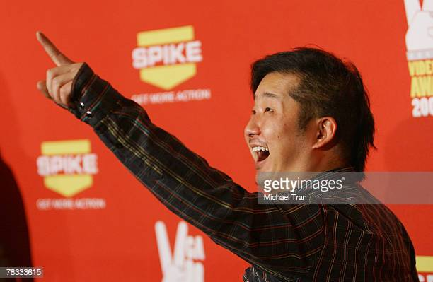 Comedian Bobby Lee arrives at Spike TV's 5th Annual Video Game Awards held at Mandalay Bay Events Center on December 7 2007 in Las Vegas Nevada