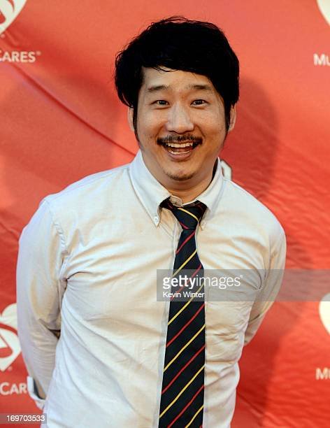 Comedian Bobby Lee arrives at the 9th Annual MusiCares MAP Fund Benefit Concert at Club Nokia on May 30 2013 in Los Angeles California