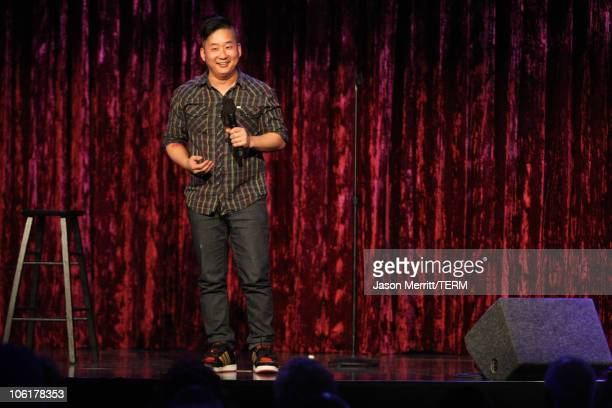 Comedian Bobby Lee onstage during The Kims of Comedy at HBO AEG Live's The Comedy Festival 2007 at Caesars Palace on November 15 2007 in Las Vegas...