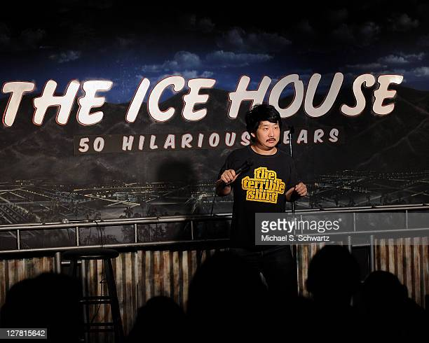 Comedian Bobby Lee performs at The Ice House Comedy Club on March 19 2011 in Pasadena California