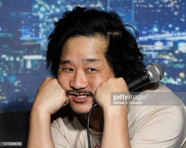 Comedian Bobby Lee performs during his appearance at The Ice House Comedy Club on December 14 2018 in Pasadena California