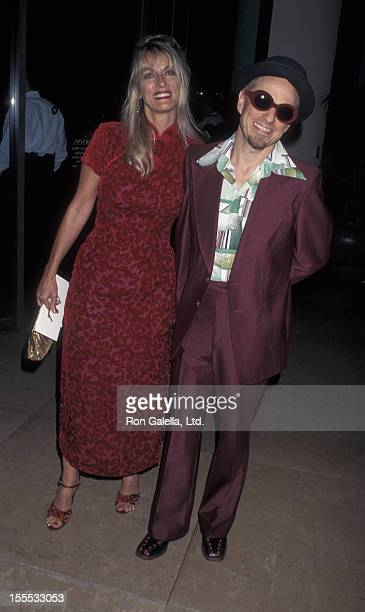 Comedian Bobcat Goldthwait and wife Ann Luly attend 12th Annual American Cinematheque Awards on September 13 1997 at the Beverly Hilton Hotel in...