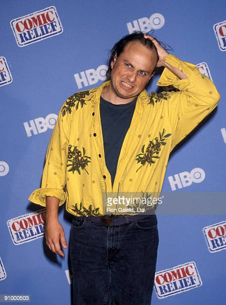 Comedian Bobcat Goldthwait attends Comic Relief Benefit on May 12, 1990 at Radio City Music Hall in New York City.