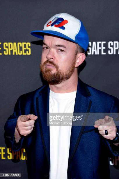Comedian Brad Williams attends the premiere of the film No Safe Spaces at TCL Chinese Theatre on November 11 2019 in Hollywood California