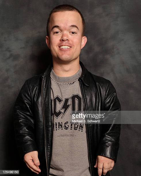 Comedian Brad Williams poses at The Ice House Comedy Club on November 30 2010 in Pasadena California