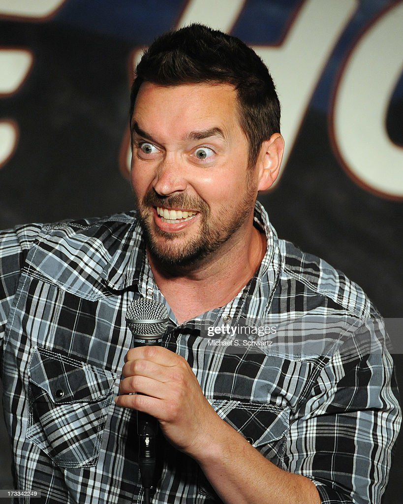 Comedian Brian Whitaker performs during his appearance at The Ice House Comedy Club on July 11, 2013 in Pasadena, California.