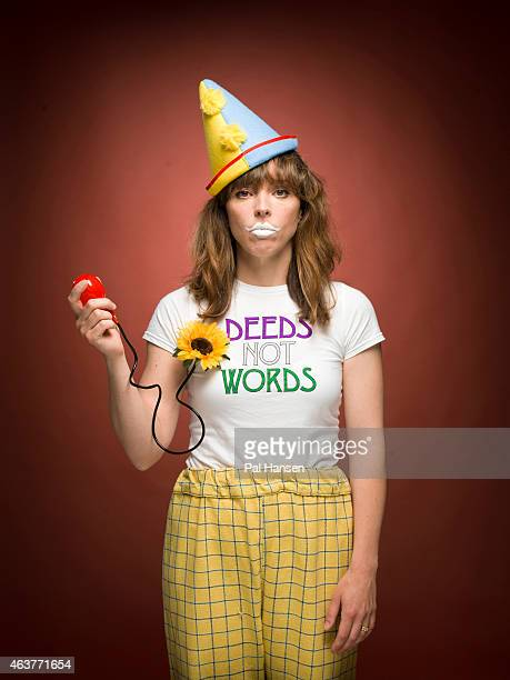 Comedian Bridget Christie is photographed for the Sunday Times on July 21 2014 in London England