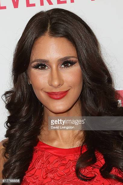 Comedian Brittany Furlan arrives at the 2016 Streamy Awards at The Beverly Hilton Hotel on October 4 2016 in Beverly Hills California