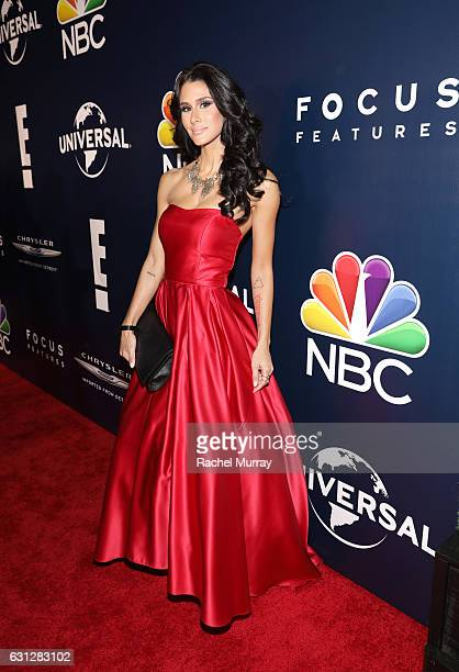 Comedian Brittany Furlan attends the Universal NBC Focus Features E Entertainment Golden Globes after party sponsored by Chrysler on January 8 2017...