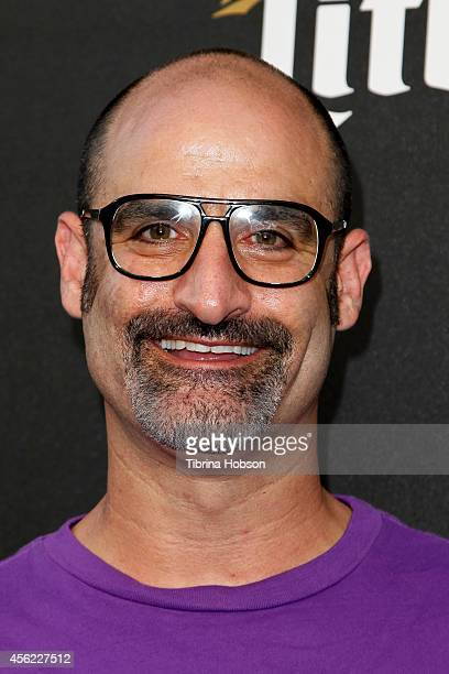 Comedian Brody Stevens attends FOX Sports 1's 'The Ultimate Fighter' season premiere party at Lure on September 9 2014 in Hollywood California