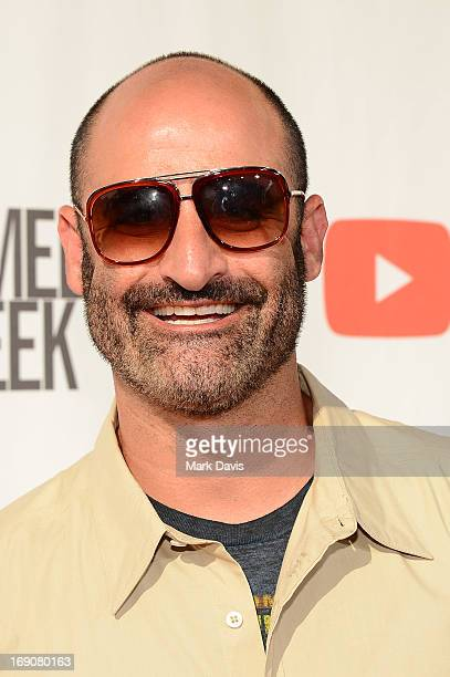 Comedian Brody Stevens attends The Big Live Comedy Show presented by YouTube Comedy Week held at Culver Studios on May 19 2013 in Culver City...