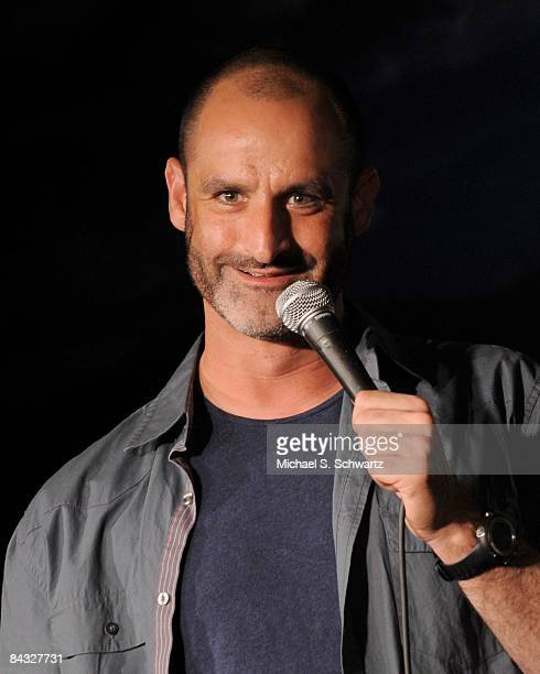 Comedian Brody Stevens performs at the Ice House Comedy Club on January 15 2009 in Pasadena California