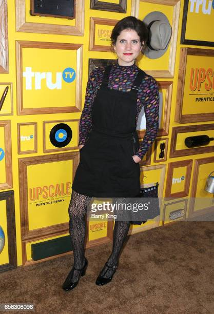 Comedian Brooke Van Poppelen attends premiere of TruTv's 'Upscale With Prentice Penny' at The London Hotel on March 21 2017 in West Hollywood...