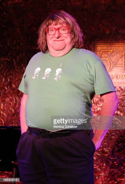 Comedian Bruce Vilanch attends the press preview at 54 Below on May 22 2013 in New York City