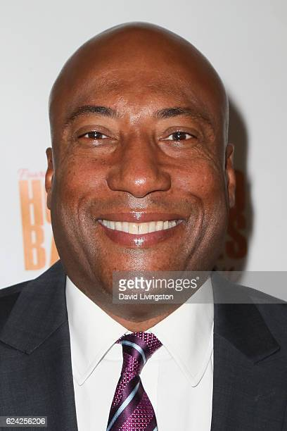 Comedian Byron Allen arrives at the 14th Annual Lupus LA Hollywood Bag Ladies Luncheon at The Beverly Hilton Hotel on November 18 2016 in Beverly...