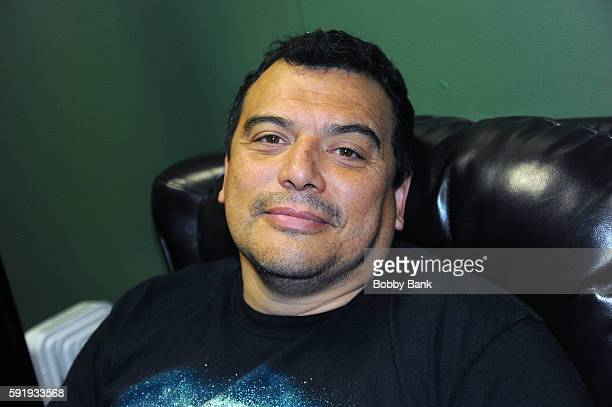 Comedian Carlos Mencia performs at The Stress Factory Comedy Club on August 18, 2016 in New Brunswick, New Jersey.