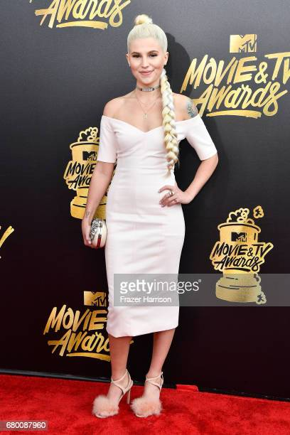 Comedian Carly Aquilino attends the 2017 MTV Movie And TV Awards at The Shrine Auditorium on May 7 2017 in Los Angeles California