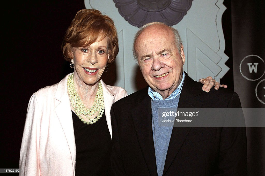 Carol Burnett Hosts The Writer's Bloc Event With Comedian Tim Conway : News Photo