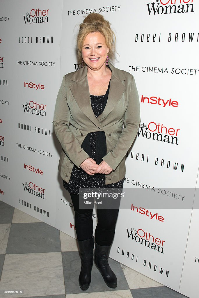 Comedian Caroline Rhea attends The Cinema Society & Bobbi Brown with InStyle screening of 'The Other Woman' at The Paley Center for Media on April 24, 2014 in New York City.