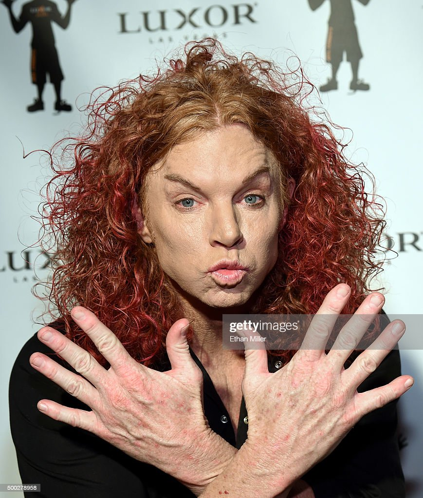 Carrot top 10th anniversary celebration at the luxor in las vegas comedian carrot top attends the 10th anniversary celebration of his residency at the luxor hotel and m4hsunfo Gallery