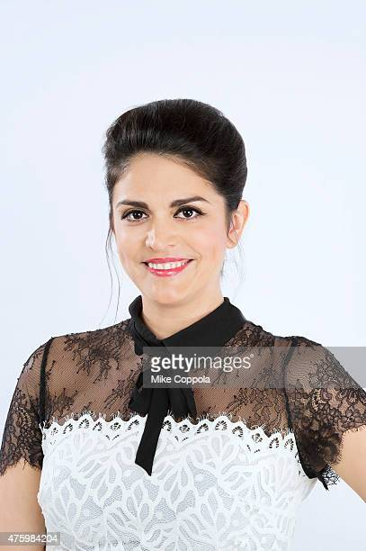 Comedian Cecily Strong poses for a portrait at The 74th Annual Peabody Awards Ceremony at Cipriani Wall Street on May 31 2015 in New York City