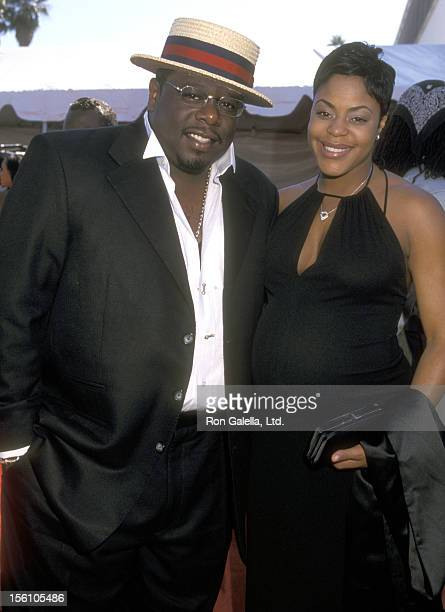 Comedian Cedric 'The Entertainer' Kyles and wfie Lorna Wells attend the Sixth Annual Soul Train Lady of Soul Awards on September 2 2000 at Santa...
