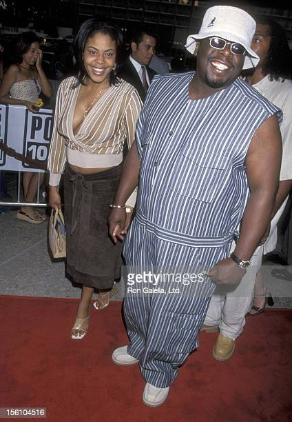 Comedian Cedric 'The Entertainer' Kyles and wife Lorna Wells attend the 'Baby Boy' Century City Premiere on June 21 2001 at Loews Cineplex Century...