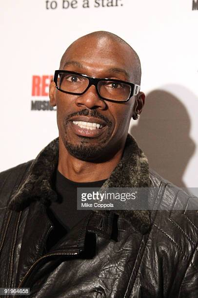 Comedian Charlie Murphy attends a concert presented by Heineken Red Star Soul at Gotham Hall on October 16 2009 in New York City