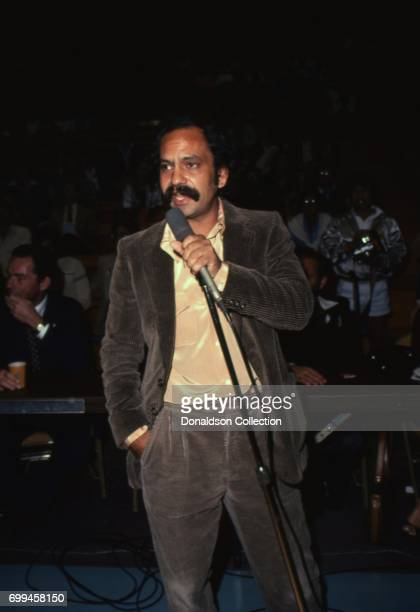 Comedian Cheech Marin performs onstage in circa 1980 in Los Angeles California