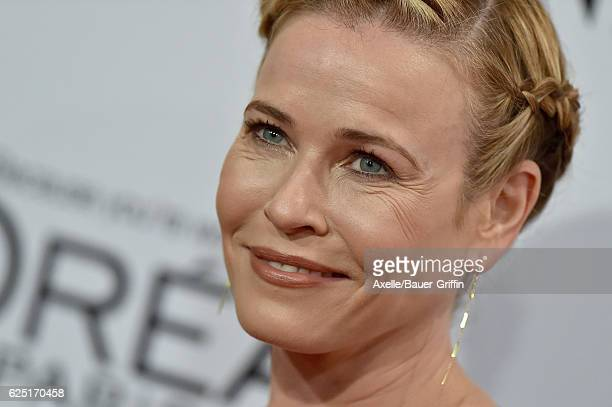 Comedian Chelsea Handler arrives at Glamour Women of the Year 2016 at NeueHouse Hollywood on November 14 2016 in Los Angeles California