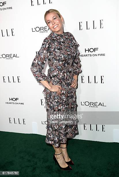 Comedian Chelsea Handler arrives at the 23rd Annual ELLE Women in Hollywood Awards at Four Seasons Hotel Los Angeles at Beverly Hills on October 24,...