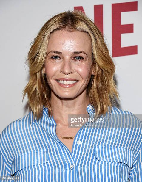 Comedian Chelsea Handler arrives at the Netflix's Rebels and Rule Breakers Luncheon and Panel Celebrating The Women of Netflix at the Beverly...