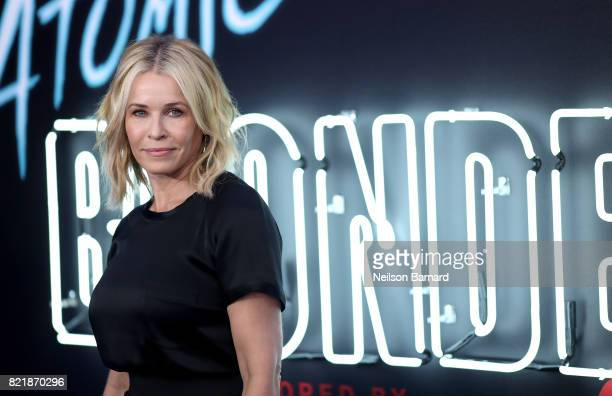Comedian Chelsea Handler attends Focus Features' 'Atomic Blonde' premiere at The Theatre at Ace Hotel on July 24 2017 in Los Angeles California