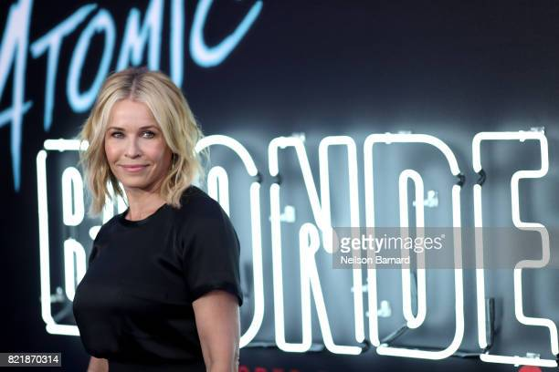 Comedian Chelsea Handler attends Focus Features' Atomic Blonde premiere at The Theatre at Ace Hotel on July 24 2017 in Los Angeles California