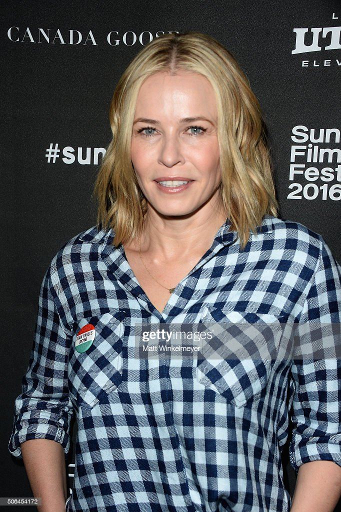 Comedian Chelsea Handler attends the Cinema Cafe during 2016 Sundance Film Festival at Filmmaker Lodge on January 23, 2016 in Park City, Utah.