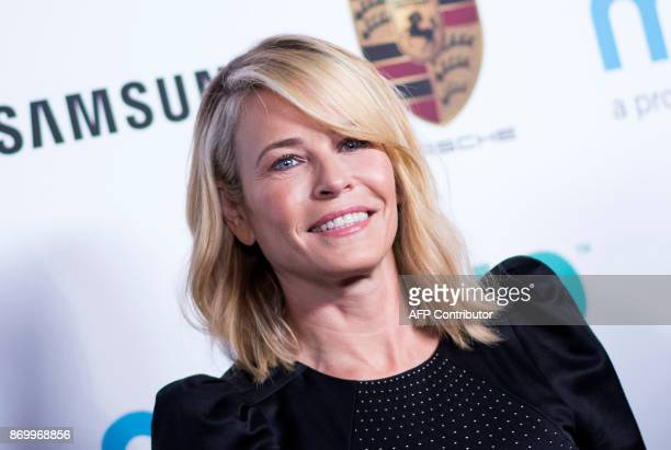 Comedian Chelsea Handler attends the Goldie's LoveIn an evening celebrating MindUp Going Global Event on November 3 in Beverly Hills California / AFP...