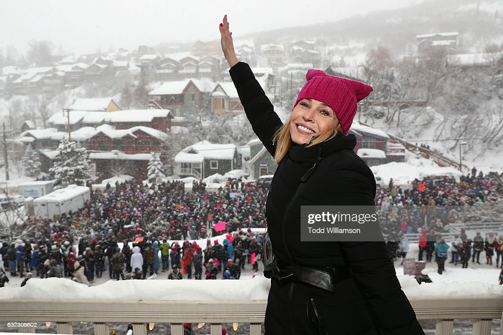 Chelsea Handler Hosts The March On Main In Park City, UT