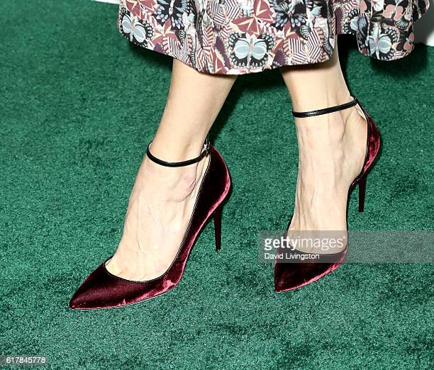 Comedian Chelsea Handler, shoe detail, arrives at the 23rd Annual ELLE Women in Hollywood Awards at Four Seasons Hotel Los Angeles at Beverly Hills...