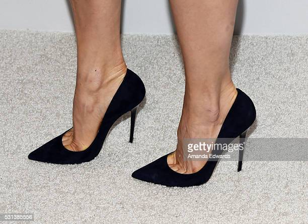 Comedian Chelsea Handler, shoe detail, arrives at the Netflix's Rebels and Rule Breakers Luncheon and Panel Celebrating The Women of Netflix at the...